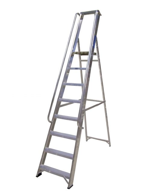 Ladder With Handrails handrail