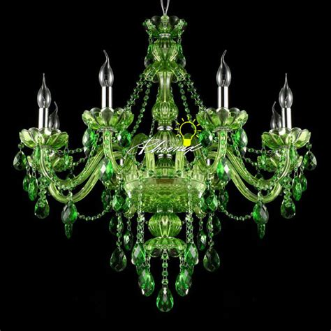 green chandelier crystals modern jade green chandelier 8943 browse project