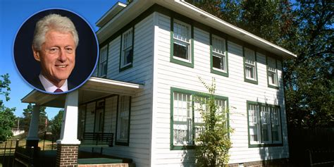 bill and hillary house bill clinton s childhood home hillary clinton s