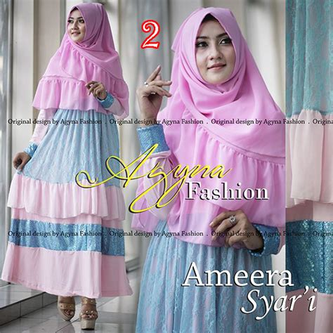 Ameera Syar I ameera syar i 2 baju muslim gamis modern