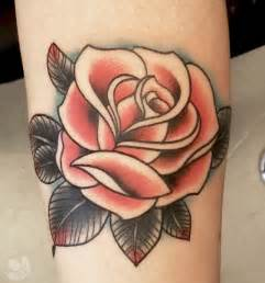 Old school roses flower tattoo shoulder tattoos for girls on pinterest