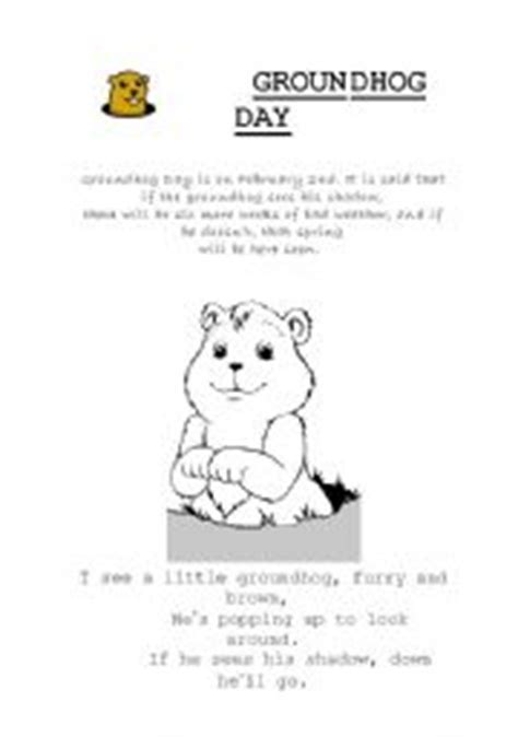 groundhog day lessons worksheets groundhog day