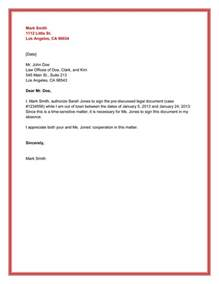 Authorization Letter Lawyer 10 Best Authorization Letter Samples And Formats