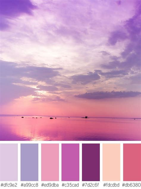 sunset color color communication colors and moods shutterstock