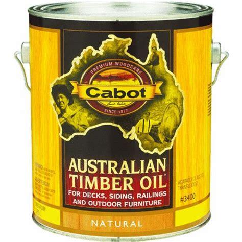 cabot australian timberoil  gallon  sealer store