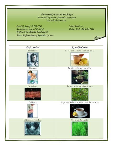 remedios naturales para enfermedades inediacom enfermedades y remedios caseros