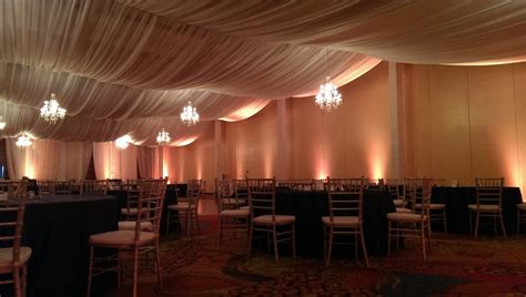 Ceiling Drape by Draping Ceiling Hanging Dpc Event Services