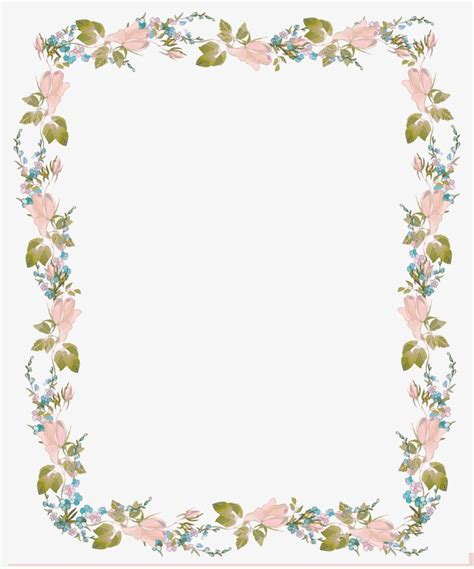 Wedding Invitation Design Border by Border Designs For Invitations Flowers Border Design