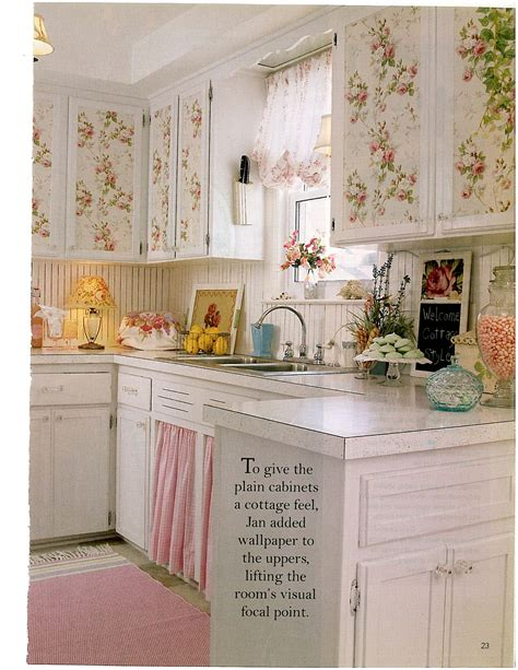shabby chic cottage kitchen sweet kitchen shabby chic decor