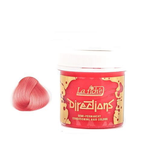 la riche directions semi permanent hair colour pastel pink la riche directions semi permanent hair colour dye all