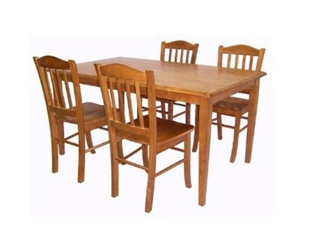 shaker dining room set how do i boraam 80136 5 piece shaker dining room set oak