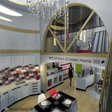 Free Online House Plans by Sweet Home 3d Draw Floor Plans And Arrange Furniture Freely
