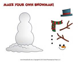 free printable templates free snowman clipart template printable coloring pages