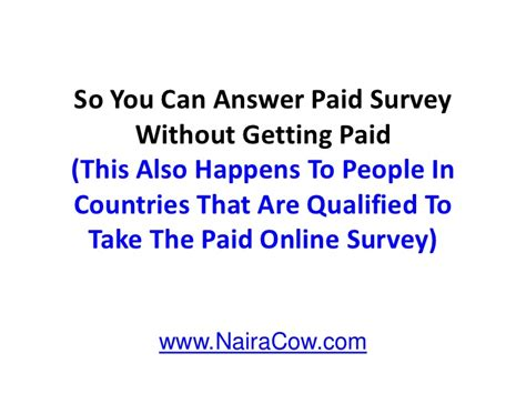 Best Surveys To Make Money - cash bread survey how to make money from survey in nigeria best ways of making money