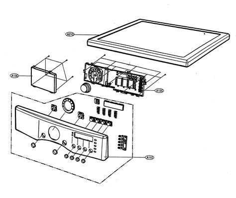 lg dryer parts diagram lg dryer parts model dlg5988w sears partsdirect