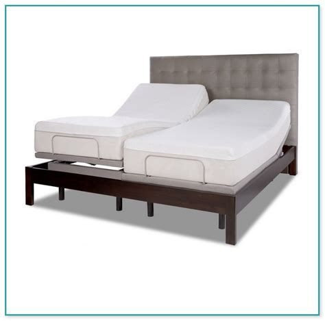 sleep number king bed price sleep number split king adjustable bed