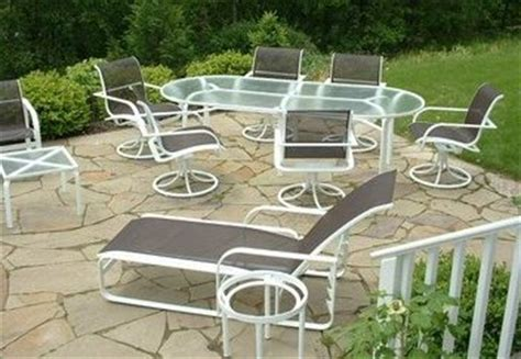 brown patio furniture repair patio sling fabric replacement f8 231 leisure brown textilene 174 80