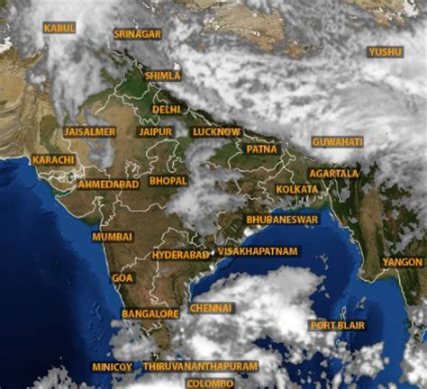 weather in india to be rainy in many places tomorrow