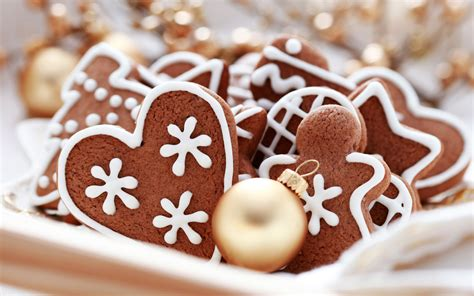 christmas cookies food wallpaper 32709943 fanpop