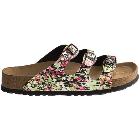 flower shoes papillio by birkenstock florida sfb flower sandals