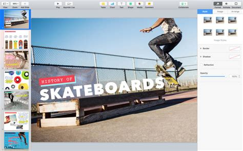 Keynote Notes keynote on the mac app store