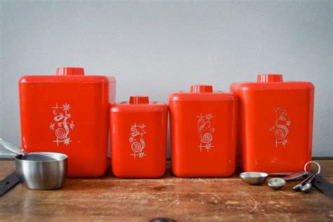 cute kitchen canister sets 1000 images about red kitchen canister sets on pinterest