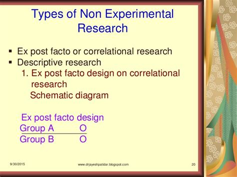 research design powerpoint slides types of quantitative research designs ppt