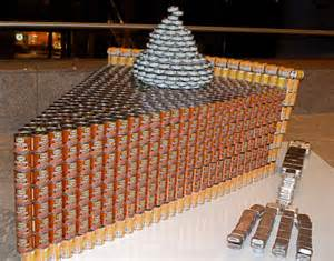 how to build a canned food sculpture nyc nyc canstruction 2009 sculptures made from cans of