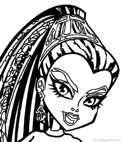 monster high skullette coloring pages fashionable ideas monster high coloring page printable