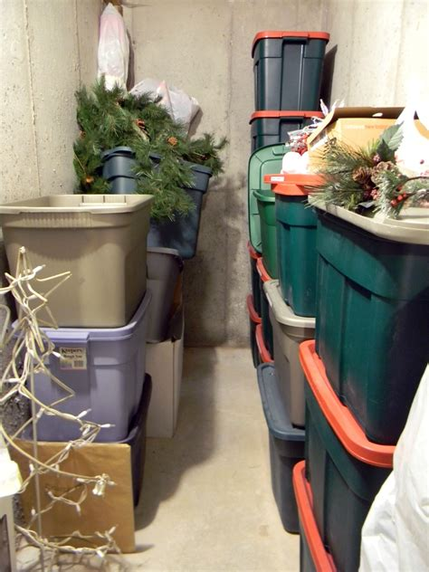 storing christmas decorations organize and decorate
