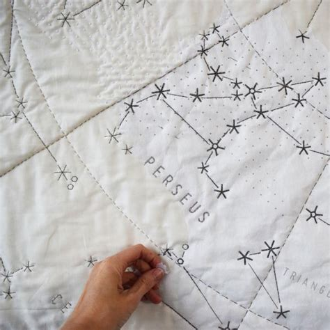 Constellation Quilt Pattern by Diy Quilt Constellation Large Haptic Lab