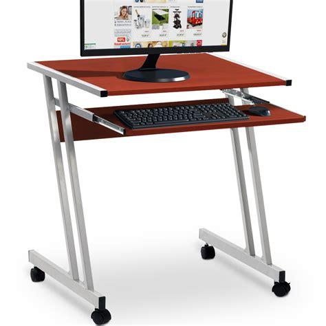 schreibtisch braun computertisch computerwagen pc tisch schreibtisch