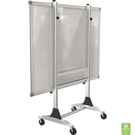 big white boards genius mobile whiteboard stand