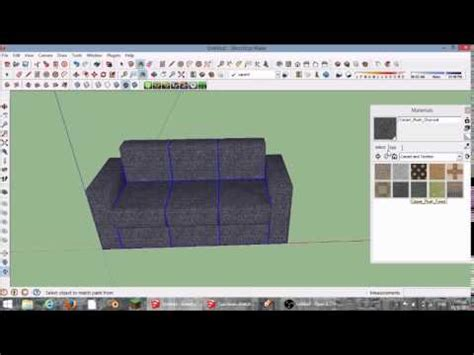 google layout video tutorial how to make an awesome couch sketchup tutorial youtube