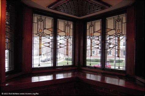 robie house windows frank lloyd wright prairie school architecture robie house in chicago illinois