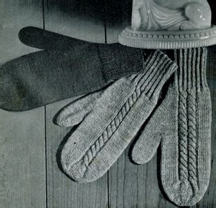 knitting patterns for mittens on four needles children s 2 needle knitted mitten patterns designs