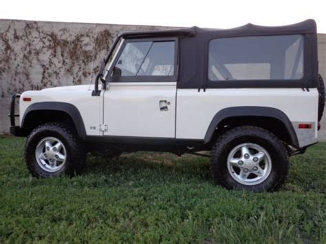 manual cars for sale 1995 land rover defender parental controls buy used 1995 land rover defender 90 hard soft tops manual 5 spd many nice extras in park