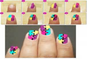 give you step by step nail art designs fiverr