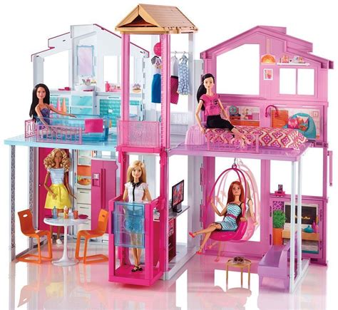 barbie house doll barbie doll 3 storey town house mansion deluxe