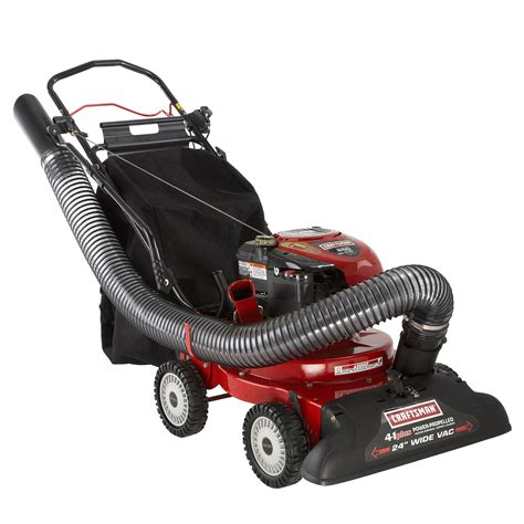 Crown 4 In1 Baby Machine 190cc 4 in 1 yard vacuum system lawn care made simple