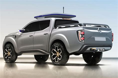 New Truck Styles by Renault Alaskan Production Model Leaks Ahead Of Reveal