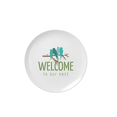 useful housewarming gifts display plate with printing brands gifts