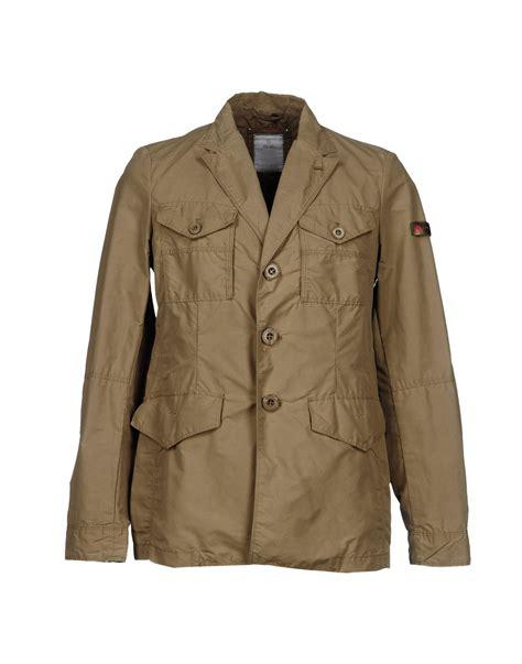 Khaki Jacket peuterey jacket in khaki for lyst