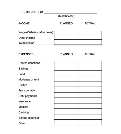 Budget Calculator Free Spreadsheet by Sle Family Budget Calculator 8 Free Documents In Pdf