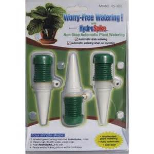 home depot watering system hydrospike hs 300 3 pack worry free automatic watering kit