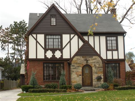 reinventing the past housing styles of tudor ville and