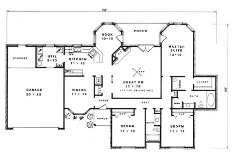 rustic country home floor plans hopi rustic country home plan 069d 0079 house plans and more