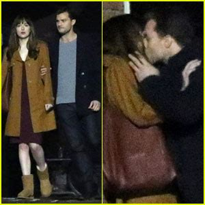 fifty shades darker filming in june dakota johnson jamie dornan film steamy fifty shades