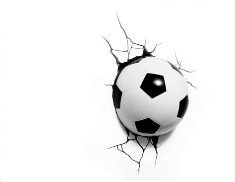 soccer ball wall light 3d soccer ball l for excitement well done stuff