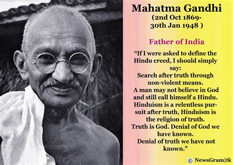 Biography Of Mahatma Gandhi Tagalog | quotes by gandhi about hinduism wisdom quotes my faith